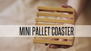 Diy Mini Pallet Coaster