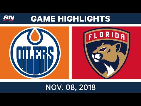 NHL Highlights | Oilers vs. Panthers – Nov. 8, 2018