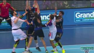 Dunkerque VS Nantes Handball Coupe de la Ligue 2017 2e demi-finale -