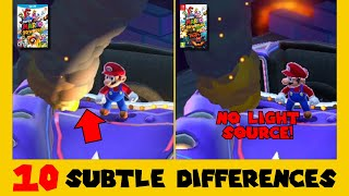 10 Subtle Differences between Super Mario 3D World for Switch and Wii U (Part 3)