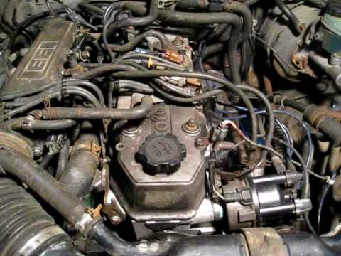 Whirring Noise Toyota 22re Engine Youtube