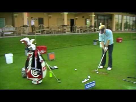 Professional golfer Soren Kjeldsen