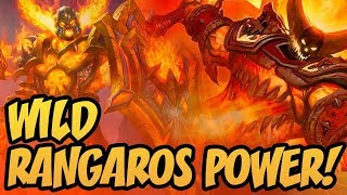 Wild Rangaros Power!   Saviors of Uldum   Hearthstone