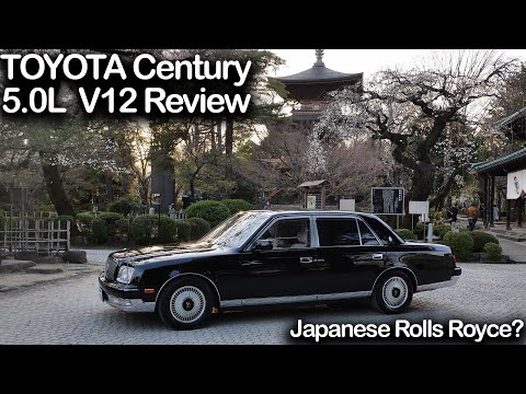 The Best Car The USA NEVER GOT, Japan's ONLY Chauffeur-driven Car | Toyota Century 97' Review