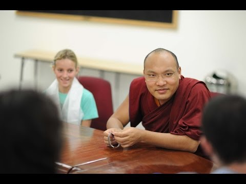 Karmapa Teaches Mindfulness to American Embassy School Students (part 1 of 2)
