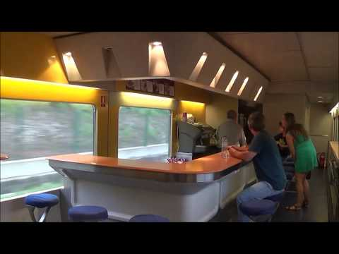 "Voyage en trenhotel ""Sud express"" Lisbonne Hendaye (surexpreso)"