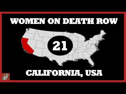 WOMEN'S DEATH ROW (21) - CALIFORNIA, U.S.A.