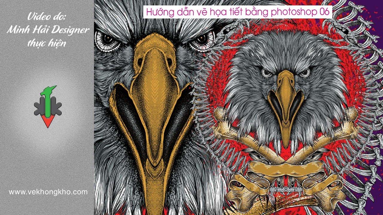 Hướng dẫn vẽ Họa tiết bằng Photoshop 06