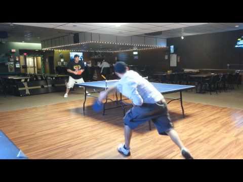 Amateur Table Tennis Match at Monessen Eagles 5/8/14