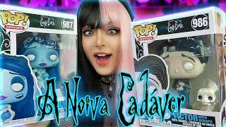 Abrindo os NOVOS POPS da NOIVA CADÁVER!