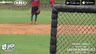 Fadriel Liriano SS 2020 Class From (Javier Rodriguez Baseball Academy) Date Video: 15.11.2018