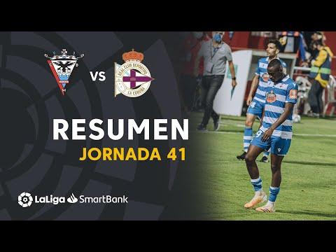Mirandes Deportivo La Coruna Goals And Highlights
