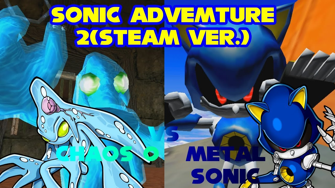 Sonic Adventure 2(Steam) Metal Sonic vs Chaos 0 2 Player