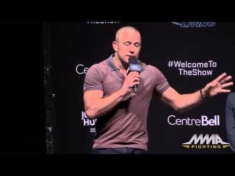 UFC 186 Q&A: Georges St-Pierre and Rory MacDonald
