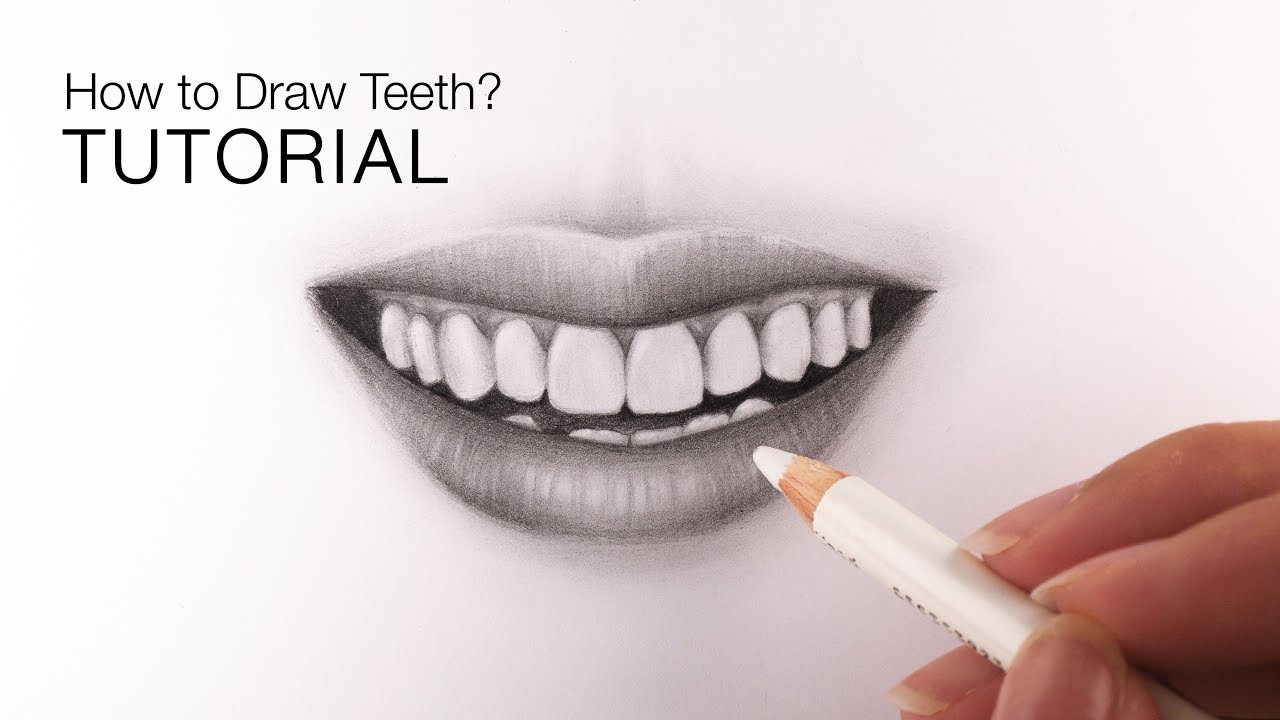 It is a graphic of Sweet Drawing Of Teeth