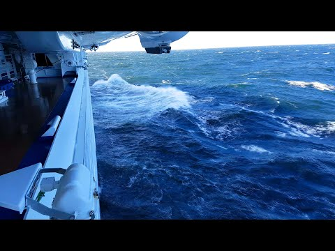 ROUGH BALTIC SEAS Onboard Regal Princess