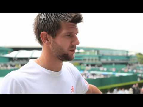 Melzer's Tough Task At Wimbledon