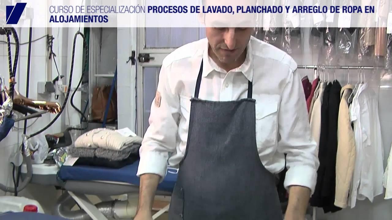 Curso de procesos de lavado planchado y arreglo de ropa - Lavado y planchado ...