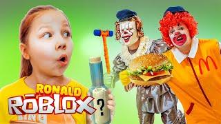 ПОБЕГ ИЗ МАКДОНАЛЬДСА! РОНАЛЬД СТАЛ ПЕННИВАЙЗОМ – Клоуном ОНО! Escape Roblox Ronald