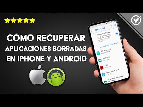 Cómo Recuperar Aplicaciones Borradas en iPhone, iPad, iPod Touch y Android