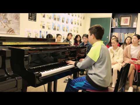 La Campanella by Sunny Zhang at age of 12