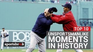 The 10 Most Unsportsmanlike Moments In History