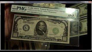 Must Watch Best Paper money collection $500,$1000 bills, $5000 star notes