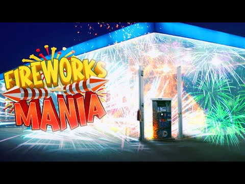 I FILLED A GAS STATION WITH FIREWORKS! - FIREWORKS MANIA |