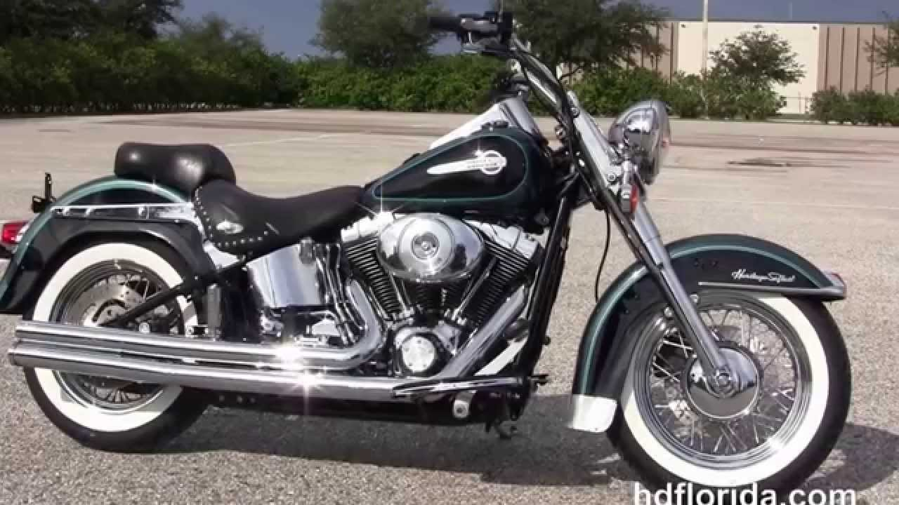 used 2002 harley davidson heritage softail classic motorcycles for sale youtube. Black Bedroom Furniture Sets. Home Design Ideas