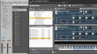 Logic and Kontakt, Multi Timbral and Multi output
