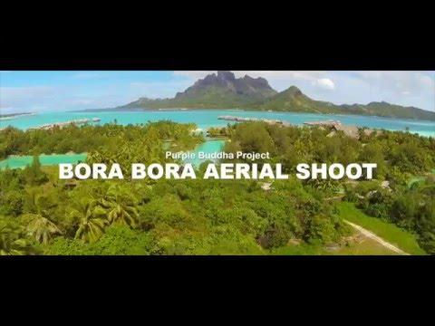 Purple Buddha Project - Aerial Drone In Bora Bora