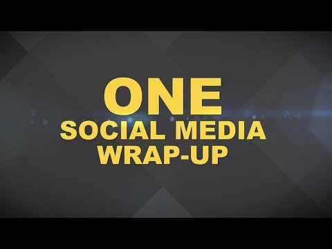 ONE Social Media Wrap-Up | 14 October 2018