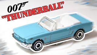 HOT WHEELS  2020 SCREEN TIME #5//10 /'65 Ford Mustang Convertible THUNDERBALL 007