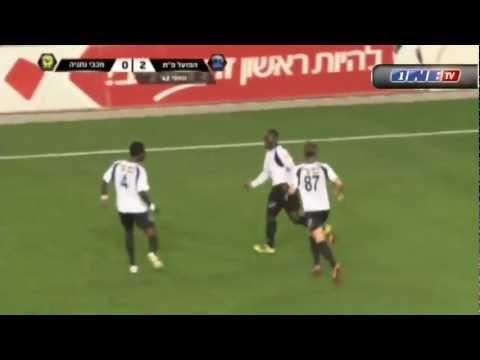 Dominique Wassi Hapoel Petah Tikva vs Maccabi Netanya 3-1