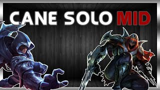ORIANNA League Of Legends ITA CANE SOLO MID #34
