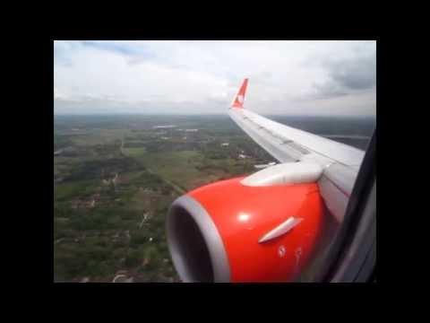 Full Flight - Jakarta to Surakarta (Solo) Lion Air Boeing 737-900ER