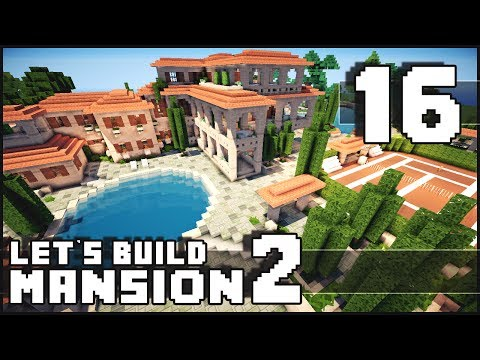 Minecraft: How To Make A Mansion - Part 16 - Let's Call It Done! + Download