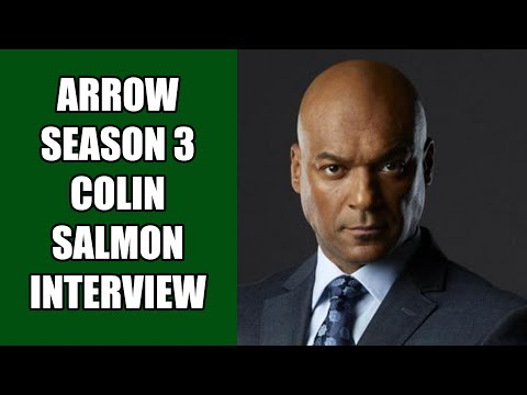 Arrow Walter Steele Interview - Colin Salmon