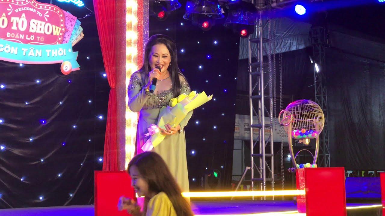 NSUT Thanh Hằng come back tại đoàn Lô Tô Sài Gòn Tân Thời ở vị trí giám khảo miss loto mùa 3
