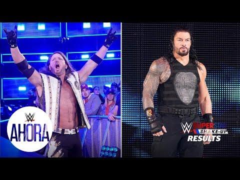 ¿Qué pasó con Raw y SmackDown LIVE?: WWE Ahora