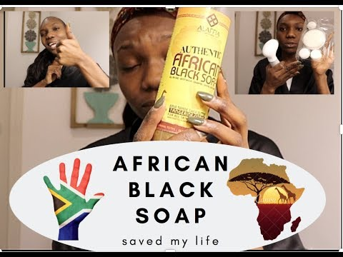 HOW AFRICAN BLACK SOAP saved my life!!!!