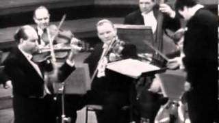 Давид Ойстрах - Bach, Violin Concerto in A minor
