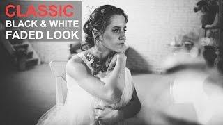 Wie Schaffen Schwarz und Weiß Verblasst-Film-Look Foto-Effekt, l-Photoshop Tutorial