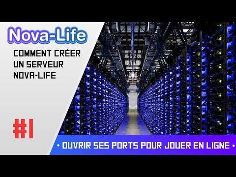 Comment créer un serveur Nova-Life