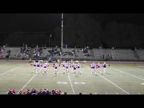 Thomas Downey High School Cheer 10/4/18