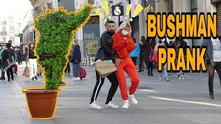 Bushman Prank in Madrid Scaring People [Parte #5]