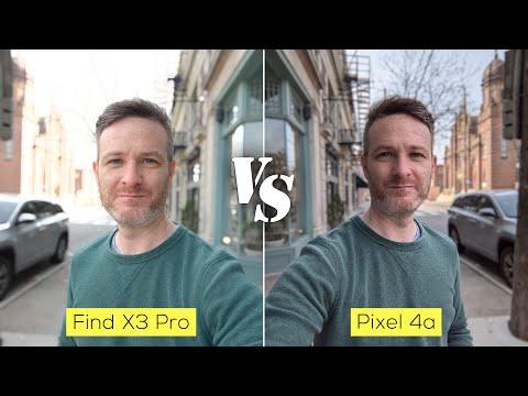 Oppo Find X3 Pro vs Pixel 4a camera comparison