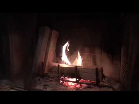 Fireplace Chat - Mixed Nuts Roasting On An Open Fire
