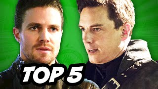 Arrow Season 3 Episode 12 - TOP 5 WTF