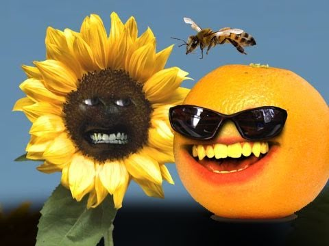 Annoying Orange - Flower Power!